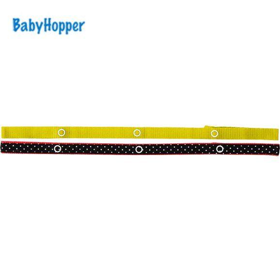 BabyHopper ベビーホッパー BHテキスタイル・トイ・ストラップ/ブラックドット 4943169020150