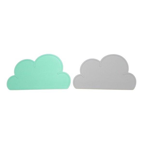 KG design 正規品 離乳食 シリコンお食事マット クラウドマット 雲 シリコンマット ランチマット sb-004