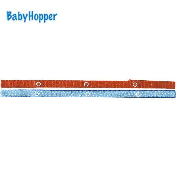 BabyHopper ベビーホッパー BHテキスタイル・トイ・ストラップ/ブルースター 4943169020198
