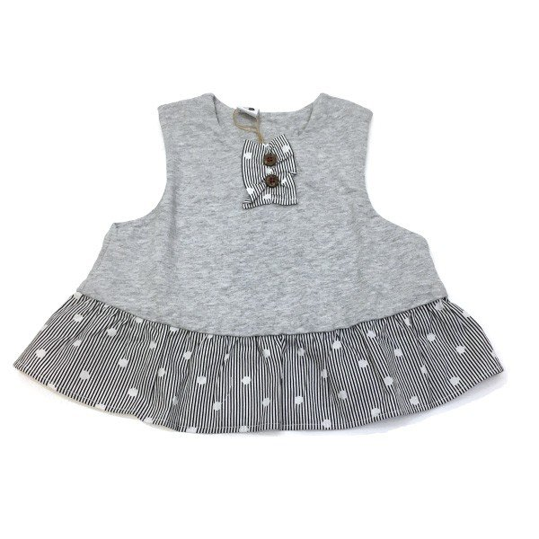 tickle museum ティックルミュージアム RAG MART ラグマート 子供服 ベスト ベビー ti1102918