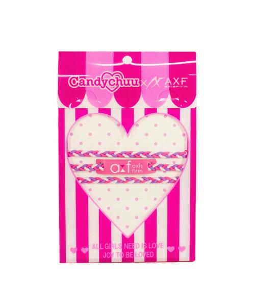 Candychuu×AXF キャンディチュウ キャンディチュー アクセフ 子供服 カラーバンドショートタイプ(Candychuu×AXF) ax209502
