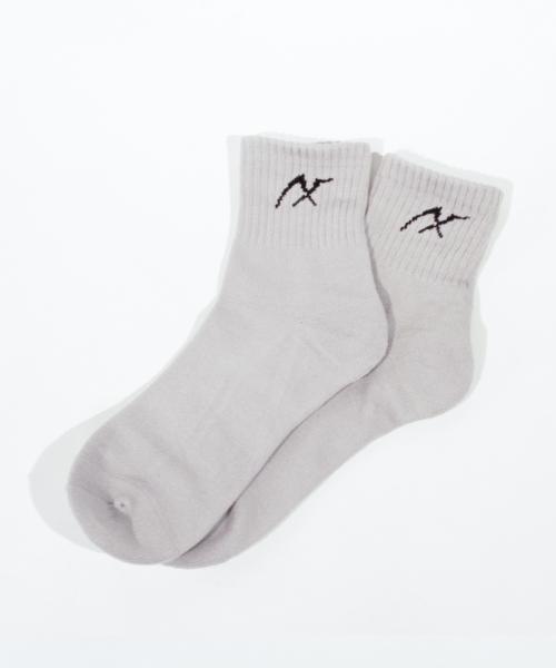 AXF アクセフ MEN'S AXF Mark Socks ax218436