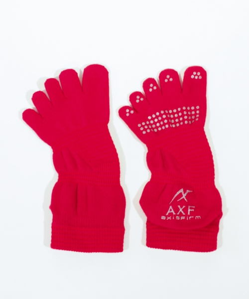 AXF アクセフ MEN'S Five Finger Socks ax218437