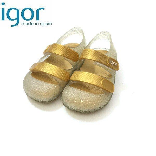 igor イゴール スペインブランド BONDI GLITTER サンダル igs10110GLT