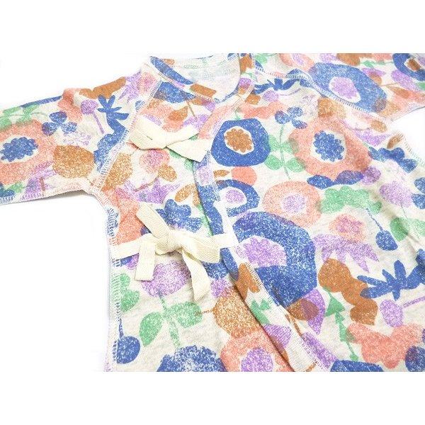 Ocean&Ground オーシャン&グラウンド 子供服 コンビ肌着 FLOWER DAYS ベビー o-1620157
