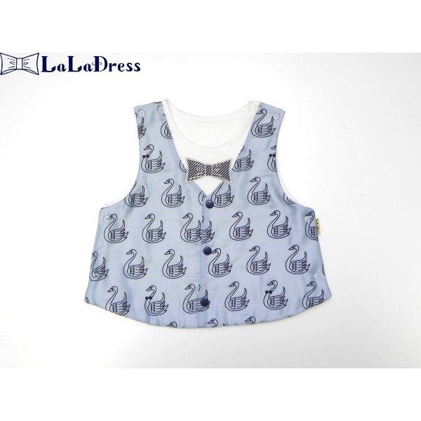 LaLaDress ララドレス 子供服 ベスト ライアン ベビー ldLDB14