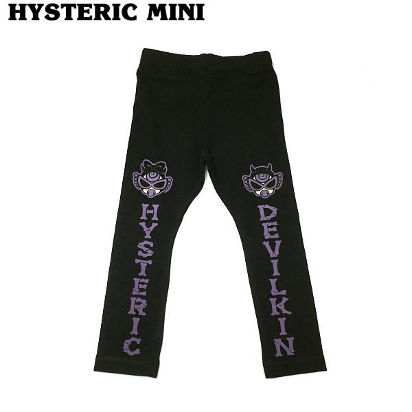Hysteric mini ヒステリックミニ 20秋冬 DEVILKIN MINI 10分丈レギンス 90cm h10450164
