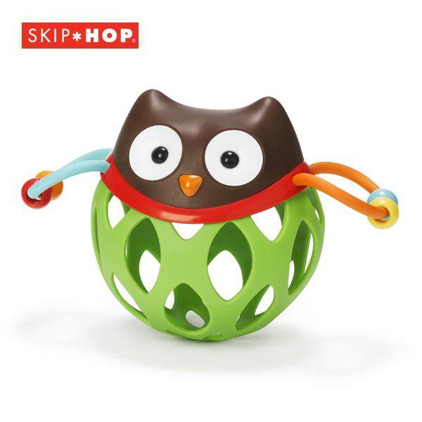 SKIP HOP スキップホップ ロールアラウンド・ラトル/オウル 879674018334