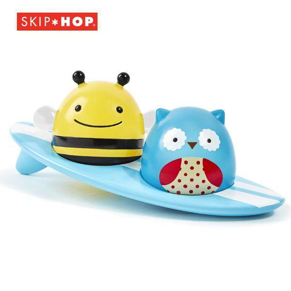 SKIP HOP スキップホップ アニマル・ライトアップサーファーズ お風呂用おもちゃ 879674022904