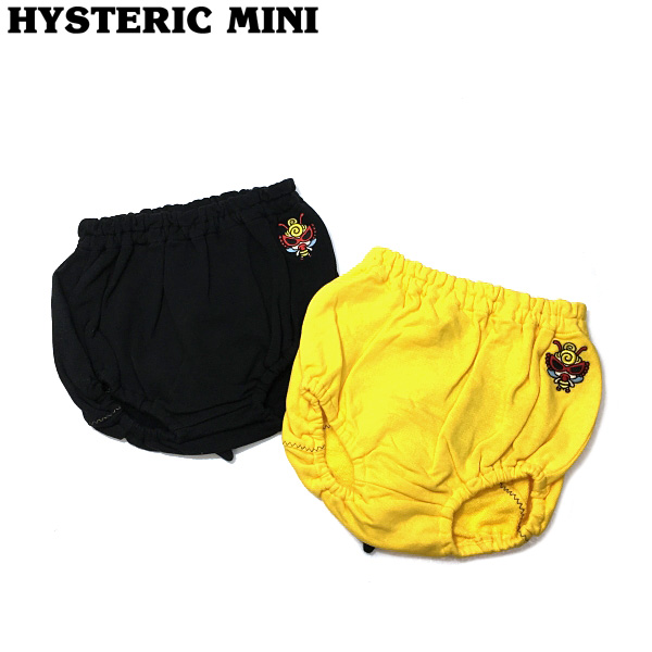 Hysteric mini ヒステリックミニ MY FIRST HYSTERIC 20秋冬 LITTLE BEE シッポ付きブルマ h10304329