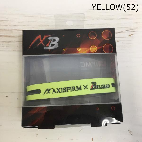 AXF アクセフ シリコンブレスレット/リバーシブル(AXFxBelgard) ax2269055