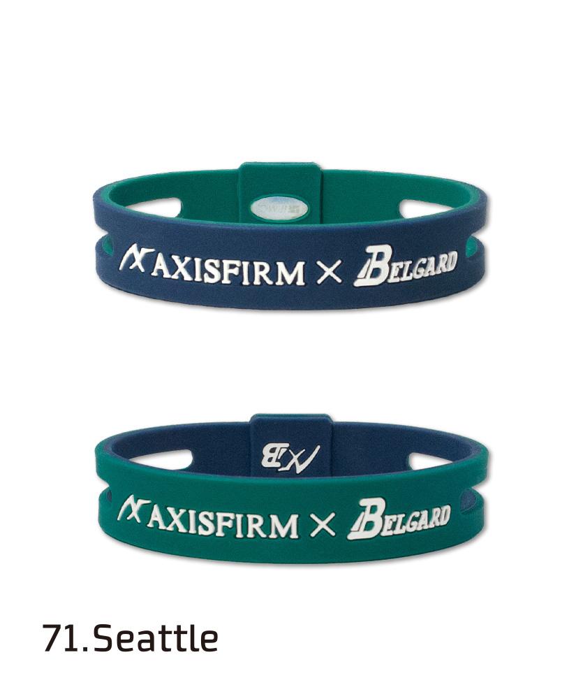 AXF アクセフ シリコンブレスレット/リバーシブル(AXFxBelgard) ax2269056