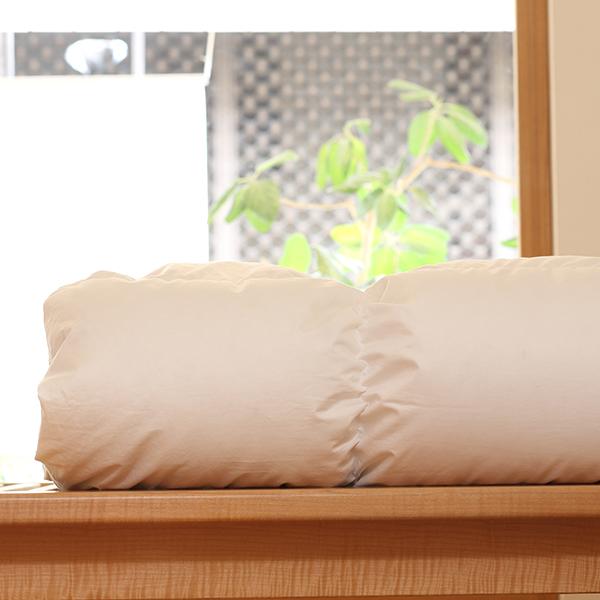ハンガリーホワイトグースダウン93%×100サテン羽毛布団・本掛け セミダブル