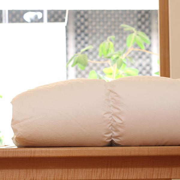ハンガリーホワイトマザーグースダウン93%×100サテン羽毛布団・本掛け セミダブル