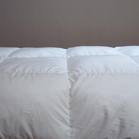 ハンガリーホワイトマザーグースダウン93%×ふわふわ洗える羽毛布団・合掛け クイーン