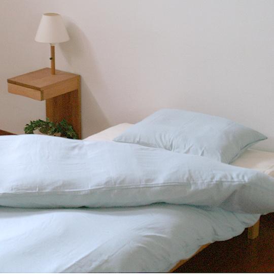 和晒ひとえガーゼカバーシリーズ 枕カバー 35×63cm (63cmファスナー)