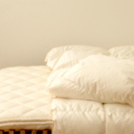 ハンガリーホワイトマザーグースダウン93%×ふわふわ洗える羽毛布団・オールシーズン シングル