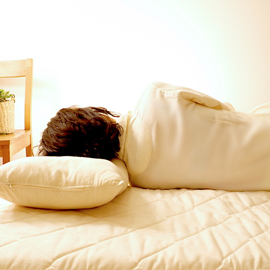 洗える敷き布団(カセット式)【ウールフィーユ×プロファイルウレタン】 ベッド用シングル (97×195cm)