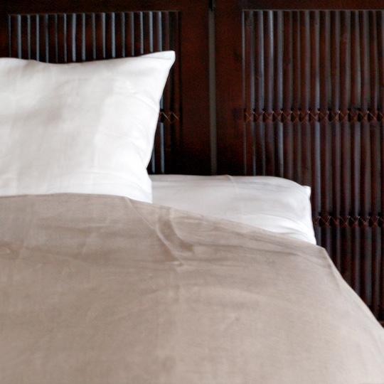 フランスリネン100% カバーシリーズ  枕カバー 35×63cm (63cmファスナー)