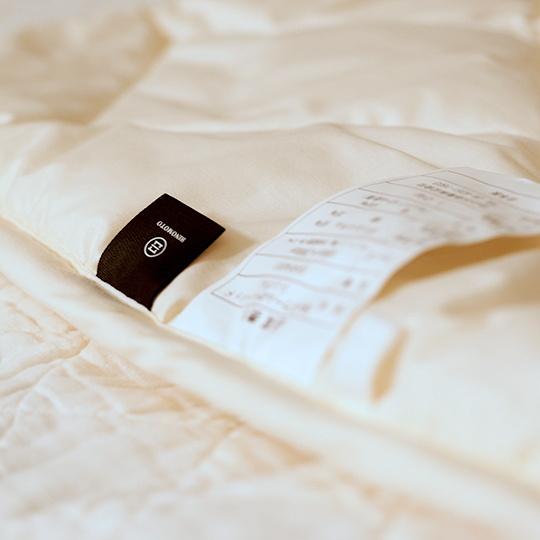 洗えるウールのベッドパッド セミダブル