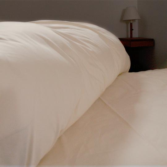 さらさらコットン 防ダニカバーシリーズ 枕カバー 35×63cm (63cmファスナー)