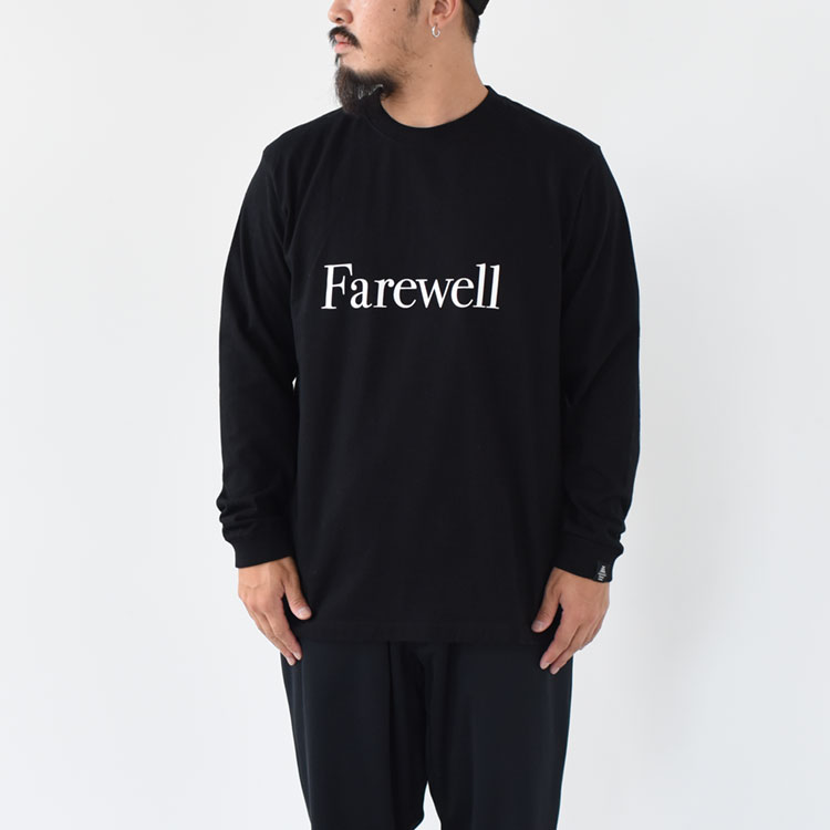 【SALE 20%OFF】POET MEETS DUBWISE(ポエトミーツダブワイズ)/FAREWELL L/S TEE ファーウェルロングスリーブT/メンズ/ポエトミーツダブワイズ Tシャツ/poet meets dubwise 通販【2020秋冬】【返品交換不可】