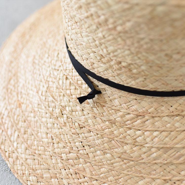 【SALE 20%OFF】bocodeco(ボコデコ)/WIDE RAFFIA LONG BRIM HAT ワイドロングブリムハット【2021春夏】【返品交換不可】