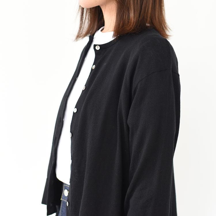 MidiUmi(ミディウミ)/CREW NECK CARDIGAN クルーネックカーディガン【2021春夏】