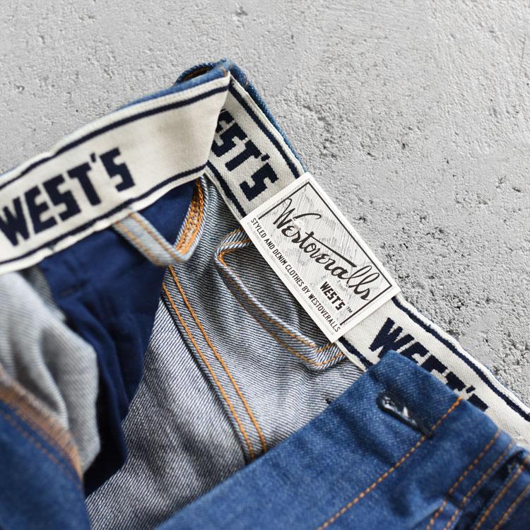 WESTOVERALLS(ウエストオーバーオールズ)/827F DENIM【2021春夏】