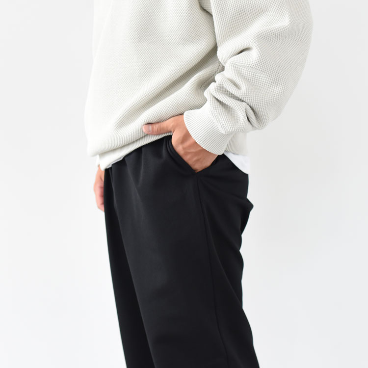 【SALE 10%OFF】BATONER(バトナー)/JERSEY WIDE PANTS ジャージーワイドパンツ【2020秋冬】【返品交換不可】