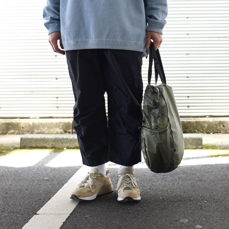 and wander(アンドワンダー)/SIL TOTE BAG 【2021春夏】