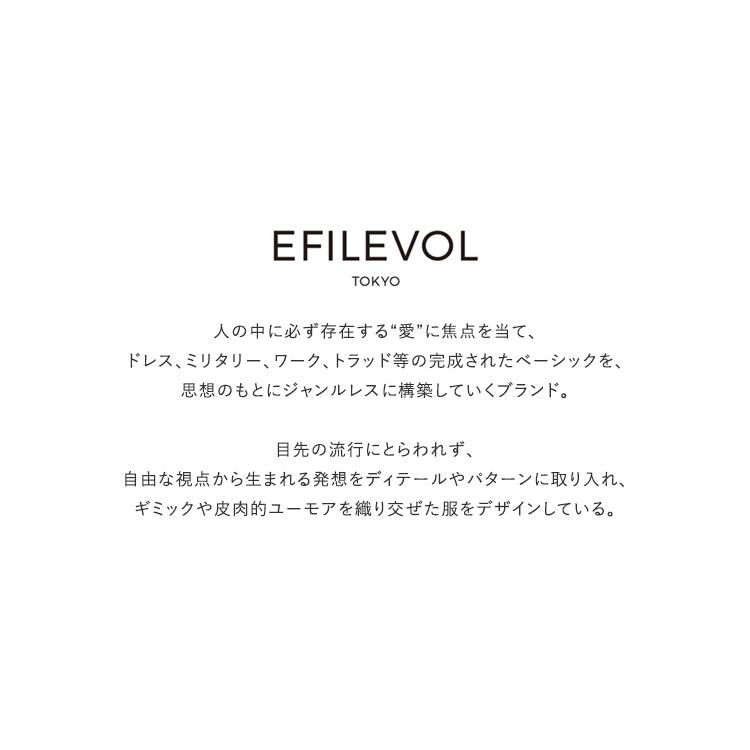 【SALE 30%OFF】EFILEVOL(エフィレボル)/Rip-Stop Layered Sleeve リップストップレイヤードスリーブ/レディース/エフィレボル ワンピース/efilevol ワンピース/エフィレボル 通販/efilevol 通販【返品交換不可】