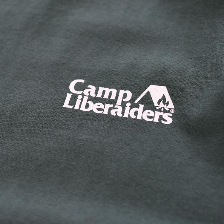 Liberaiders(リベレイダース)/CAMP LIBERAIDERS TEE キャンプリベレイダースティー【2021春夏】