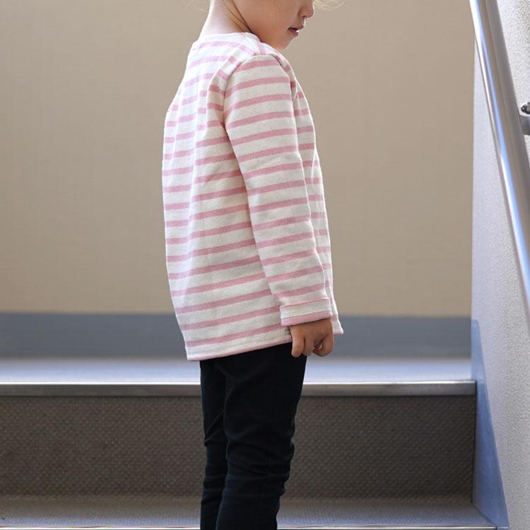 SAINT JAMES(セントジェームス)/OUESSANT ENFANT キッズ サイズ ウエッソンボーダーTシャツ/セントジェームス キッズ【ネコポス1点まで可能】