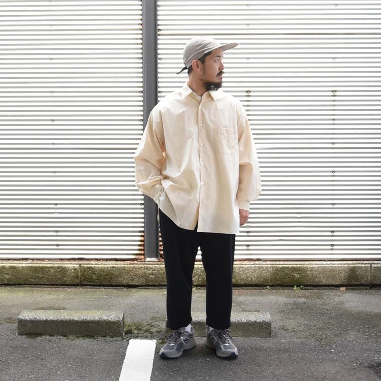 MARKAWARE(マーカウェア)/COMFORT FIT SHIRT コンフォートフィットシャツ【2021春夏】