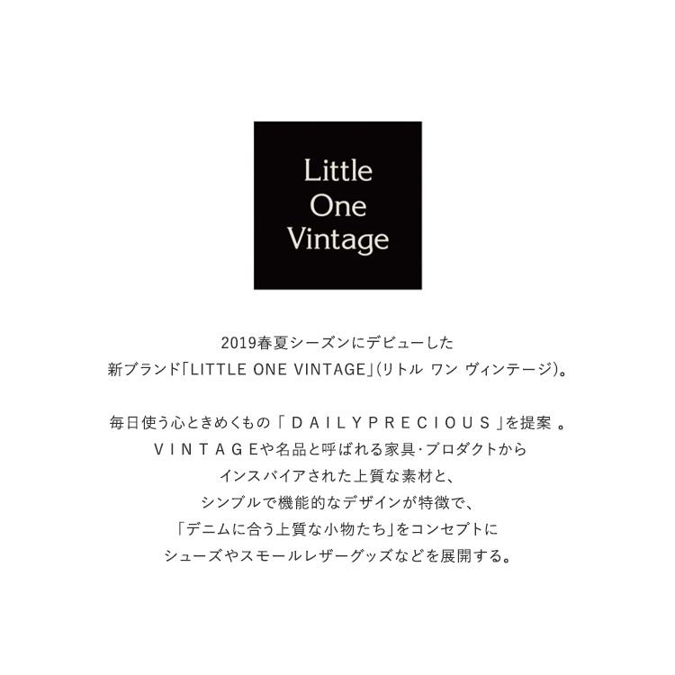 Little One Vintage(リトルワンヴィンテージ)/LITTLE ONE VINTAGE HORSE RIDER ブライドルレザーベルト【2021秋冬】