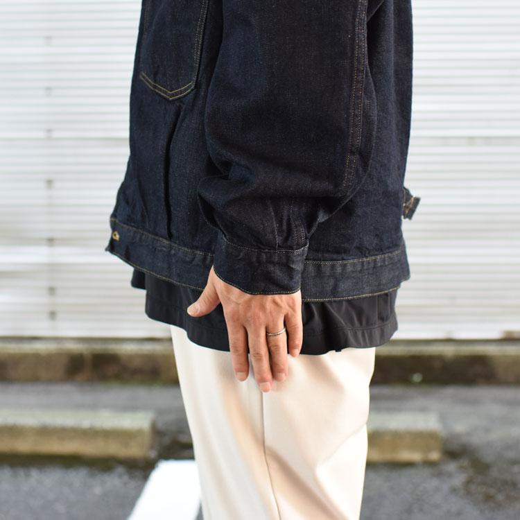 marka(マーカ)/12oz COTTON DENIM DENIM JACKET TYPE-1 コットンデニムジャケット【2021秋冬】