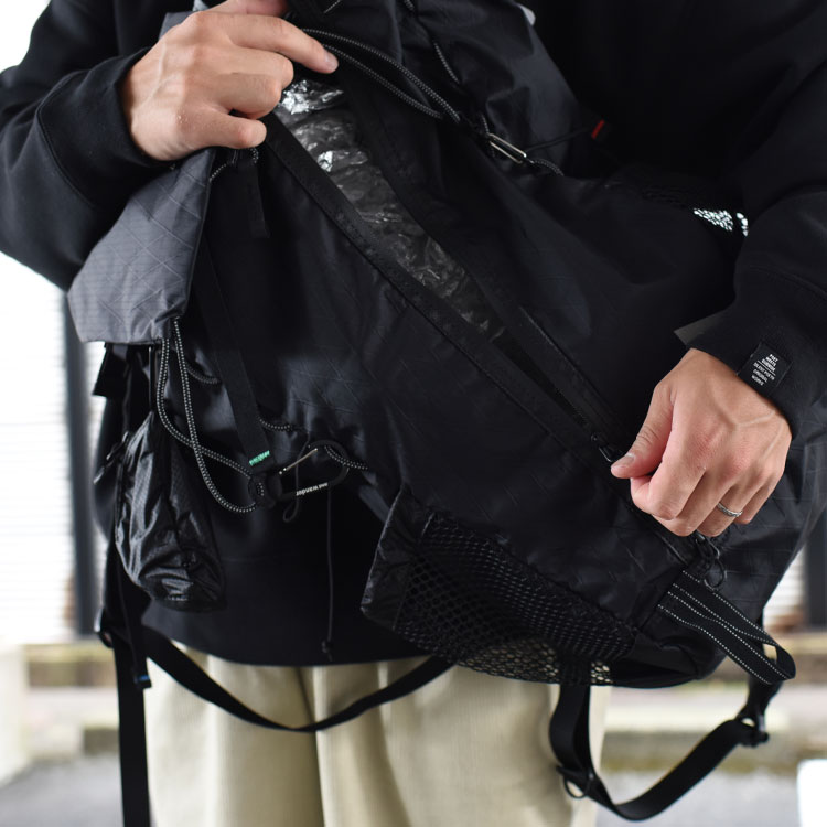 and wander(アンドワンダー)/X-PAC 30L BACKPACK バックパック【2021秋冬】