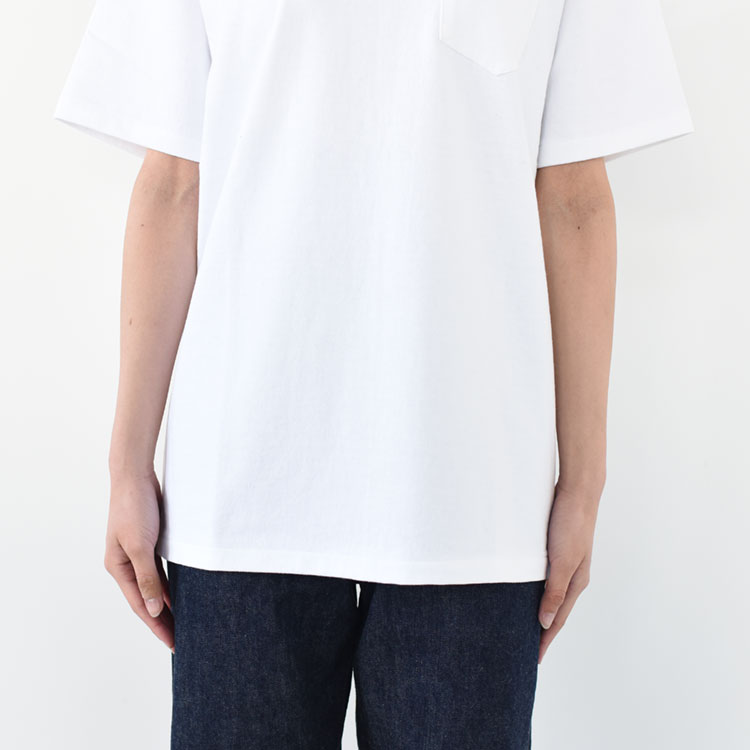 ANATOMICA(アナトミカ)/POCKET TEE ポケットTシャツ【2021春夏】【ネコポス1点まで可能】
