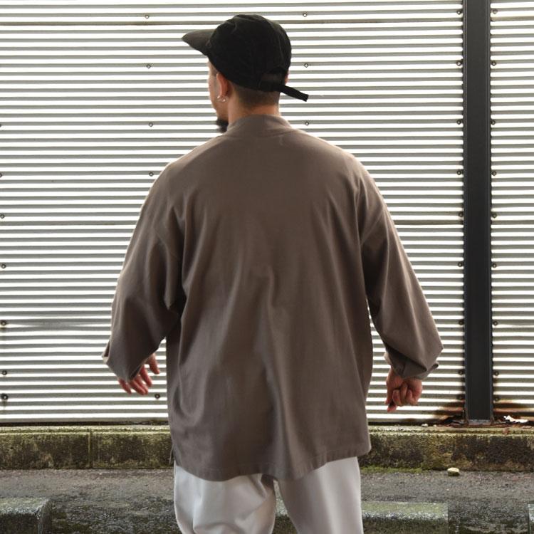marka(マーカ)/MOCK NECK 30/2 COMED COTTON モックネックロングスリーブ【2021秋冬】
