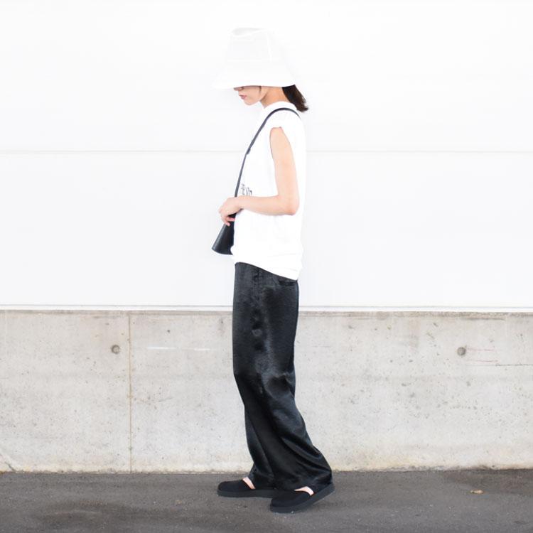 THE SHINZONE(ザ シンゾーン)/SATIN PANTS サテンパンツ【2021春夏】