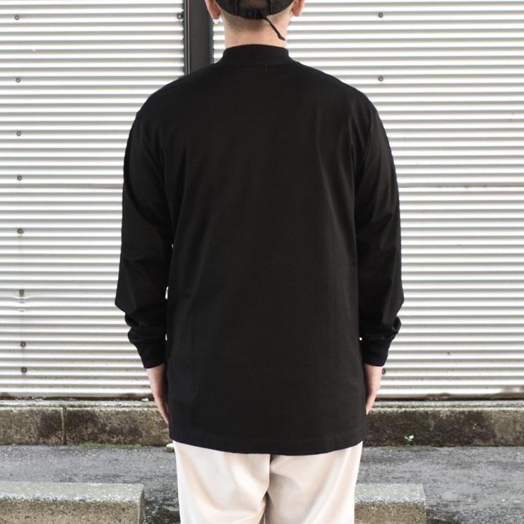 ULTERIOR(アルテリア)/MOCK NECK TEE モックネックティー【2021秋冬】