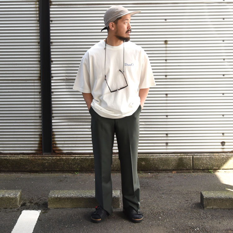 DUNNO(ダノウ)/RESTAURANT TEE Tシャツ【2021春夏】