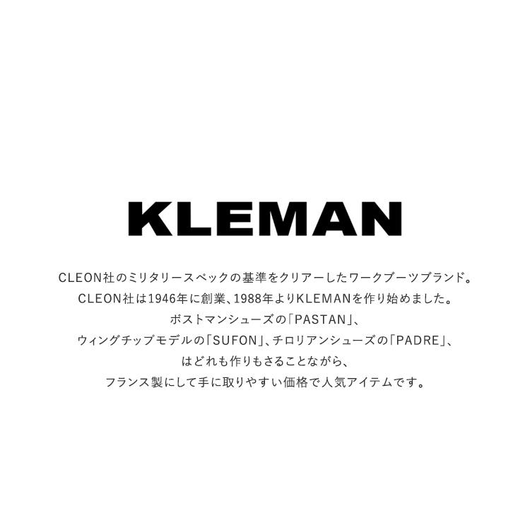 KLEMAN(クレマン)/PADRE レザーシューズ【2020秋冬】