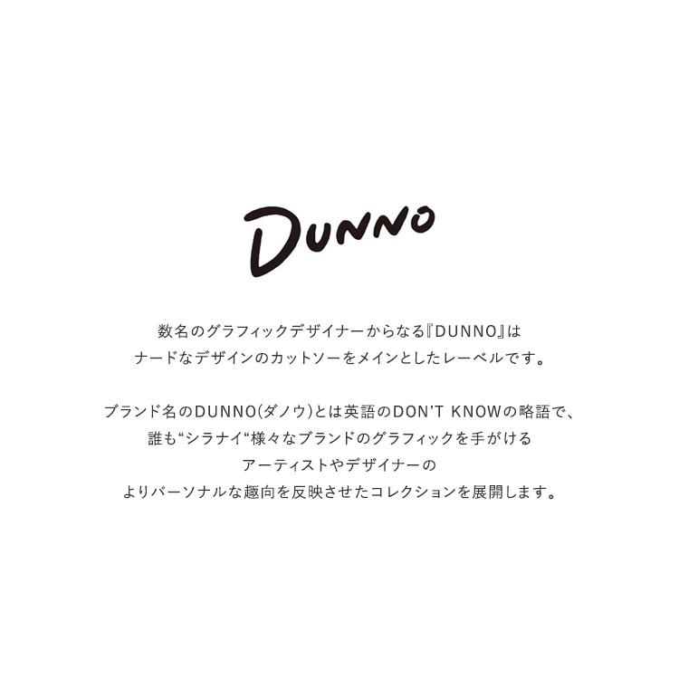 DUNNO(ダノウ)/CIRCLE TEE Tシャツ【2021春夏】