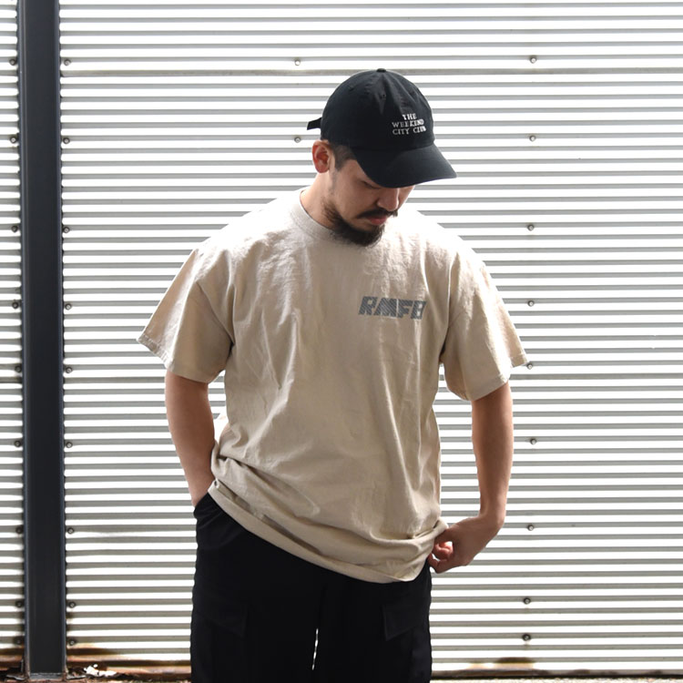 Rocky Mountain Featherbed(ロッキーマウンテンフェザーベッド)/RMFB REFLECTOR NAVY TEE レフレクターネイビーTシャツ【2021春夏】【ネコポス1点まで可能】