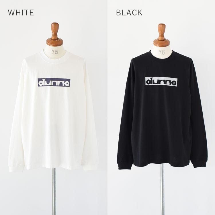 DUNNO(ダノウ)/RABBIT LS TEE Tシャツ【2021春夏】