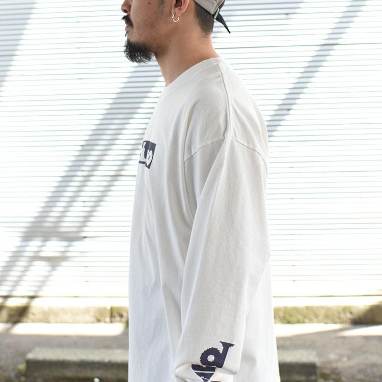 【SALE 20%OFF】DUNNO(ダノウ)/RABBIT LS TEE Tシャツ【2021春夏】【返品交換不可】