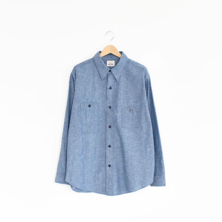 BIG YANK(ビッグヤンク)/1942 ORIGINAL CHAMBRAY オリジナルシャンブレーシャツ【2021春夏】