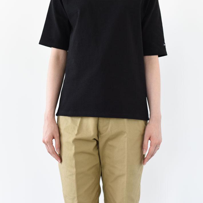 SAINT JAMES(セントジェームス)/OUESSANT SHORT SLEEVE SHIRTS ウエッソン半袖バスクTシャツ/レディース/メンズ/T0〜T6まであり/無地/セントジェームス 半袖/【ネコポス1点まで可能】